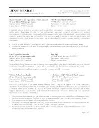Law Enforcement Resume Templates Free Legal Assistant Sample Litigation Attorney Example L