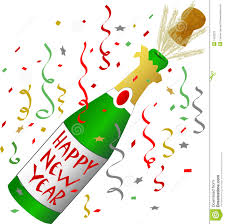 champagne glass new year clip art – Merry Christmas & Happy New