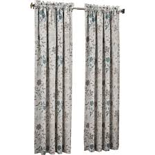 Nicole Miller Home Two Curtain Panels by Nice Window Curtain Ideas With Grey Color Accent Above Small
