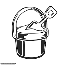 Beach Pail And Spade Clipart