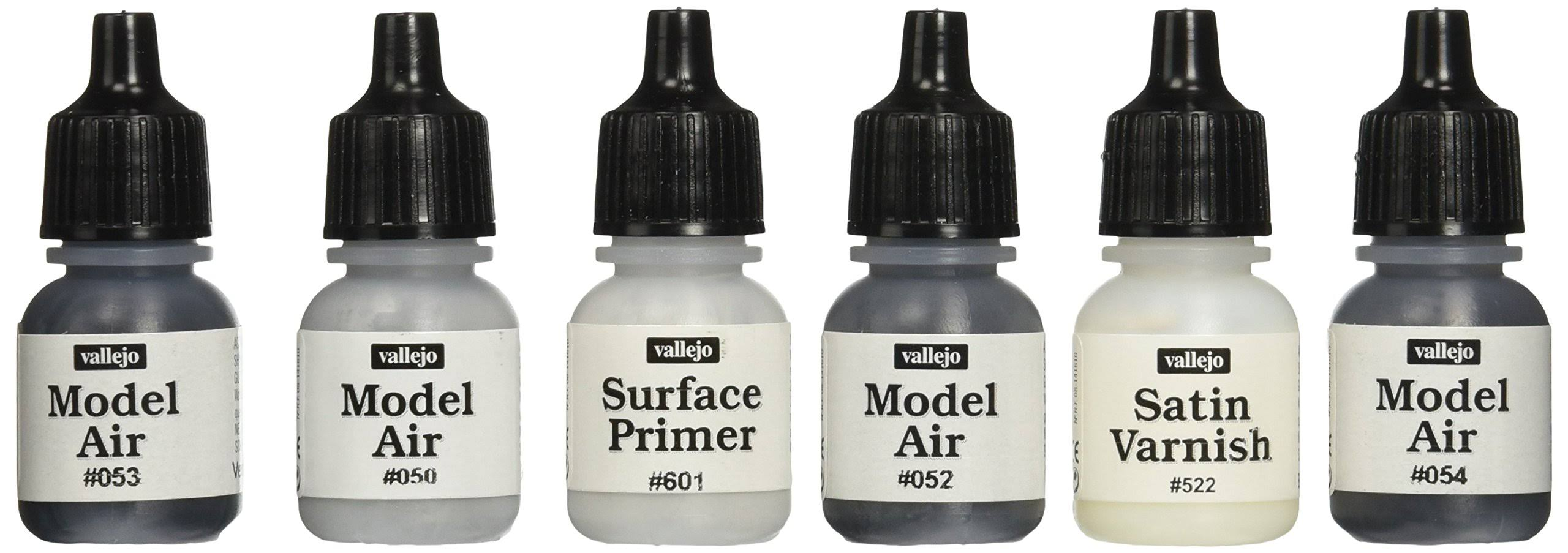Vallejo AFV German Dark Grey Modulation Paint Set - 8ml