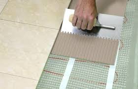 how to install in floor heating tile soloapp me