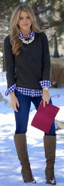 Teenage Girls Sweater Wearing Ideas 23 Cute Winter Outfits For College