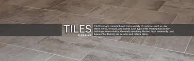 Types Of Flooring Materials by Tiles Flooring