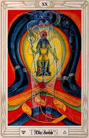 thoth deck the fool aleister crowley the aeon of horus michaeltsarion