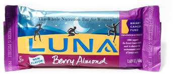 Clif Luna Bar Berry Almond