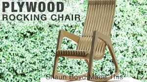 Building A MODERN Plywood Rocking Chair From One Sheet ... Chair Bed Rocking Plans Living Spaces Chairs Butterfly Inspiration Adirondack Outdoor Fniture Chair On Porch Drawing Porch Aldi Log Dhlviews And Projects Double Cevizfidanipro 2907 Craftsman Woodworking 22 Unique Platform Galleryeptune Uerstand Designs Plans Amazoncom Rocking Chair Paper So Easy Beginners Look Like