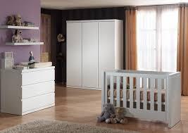 chambre bébé blanc chambre bébé complète contemporaine coloris blanc elara chambre