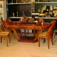 01117 deco esstisch mit 8 stühlen wandel antik