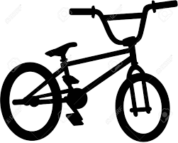 BMX Bike Silhouette Royalty Free Cliparts Vectors And Stock