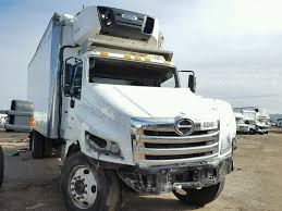 100 Heavy Duty Truck Auction Salvaged 2015 HINO ALL MODELS S For