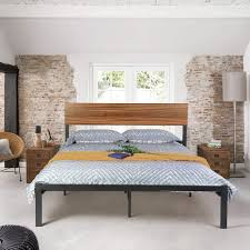Exciting Queen Bed Frame Wood Slats Metal Plans Cheapest