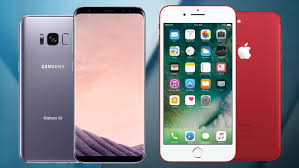 Galaxy S8 vs iPhone 7 Samsung and Apple Flagships Face f