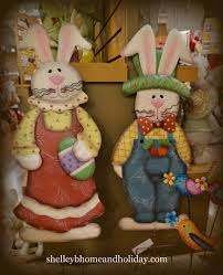 Metal Halloween Yard Stakes by Easter Bunny Boy And Metal Garden Stakes Shelley B Home And