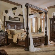 Canopy Bed Queen by Bedroom Draped White Fabric 1000 Ideas About Wood Canopy Bed