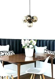 Dining Room Chairs Covers Plastic Chair Vinyl Black Banquette With