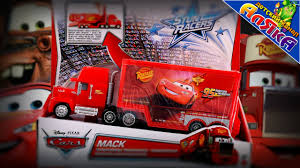 100 Cars 2 Mack Truck NEW TOYS Hauler CARS Trailer Buildable