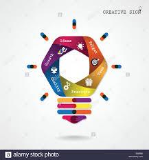 Creative Light Bulb Idea Concept Background Design For Poster Flyer Cover Brochure Business Education