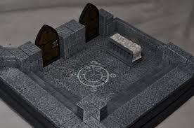 Making 3d Dungeon Tiles by Dungeon Command Hirst Arts Tiles Tyranny Of Goblins Roving Band