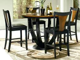 two tone dining table australia 2 round set chicago wood black