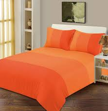 Decorate With Orange Bed Set