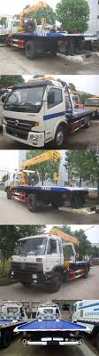Foton 4*2 Road Recovery Truck 7tons Flatbed Tow Truck For Sale ...