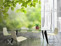 heiteres grün fototapete fürs wohnzimmer wohnzimmer