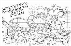 Beach Coloring Pages Unique To Print