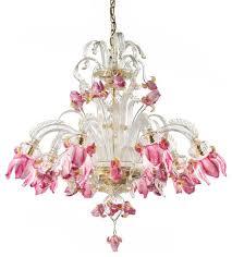 stunning murano glass chandelier flowers and fruits murano glass