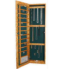 Cabidor Classic Storage Cabinet With Mirror by Wall Mounted Jewelry Armoire Recessed In Jewelry Cabinets