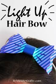 DIY Light Up Hair Bow