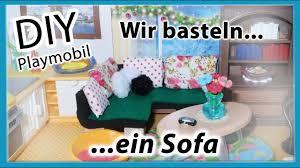 diy playmobil wir basteln ein sofa bastelideen