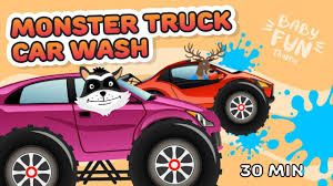 Monster Truck   Car Wash   Kids Vehicles   Cartoon Cars   Trucks For ... Color Bus On Truck And Cars Cartoon For Kids Fun Colors Truck Drawing At Getdrawingscom Free Personal Use Illustration Trucks Vehicles Machines Stock Seamless Pattern Made Cartoon Cars Trucks Vector Image Car Ricatures Cartoons Of Motorcycles Development The Yellow Excavator 627 Monster Cliparts And Royalty Tow Adventures Service Mercedesbenz Vehicle Vans Images Of Group 69