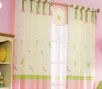 Pink And Purple Ruffle Curtains by Nursery Window Curtains Crayola Cosmic Burst Girls Bedroom