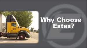 100 Estes Truck Lines Why Choose YouTube