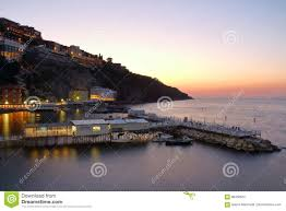 100 Houses In Sorrento By Night Italy Stock Image Image Of Travel 98430657