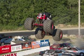 100 Monster Truck Crashes Shows Saratoga Speedway