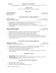 Fine Dining Server Resume Restaurant Sample