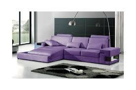 canape violet canapé cuir d angle design et pas cher montelimar