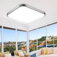 etime led deckenleuchte 65x65cm deckenle kaltweiß modern le led leuchte für wohnzimmer schlafzimmer küche panel 6000k silber 65x65cm 64w