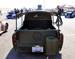 100 Vw Bug Truck Interesting Bugtruck Creation With A Military Motif Just A Car Guy