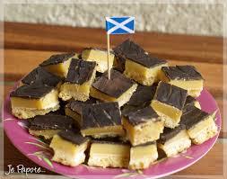 cuisine ecossaise shortbread millionnaire gourmandise écossaise je papote