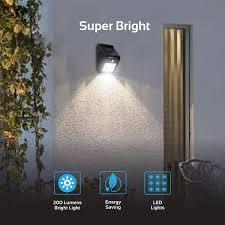 5W COB LED Solar Motion Detection Sensor Securi Outbaxcamping