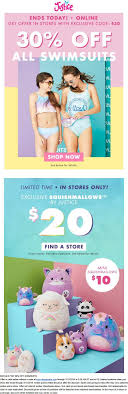 Pinned February 11th: 30% Off Swimsuits Today At #Justice ... 30 Off E Beanstalk Coupons Promo Discount Codes Justice Off A Purchase Of 100 Free Shipping End Walgreens Black Friday 2019 Ad Deals And Sales Squishmallow Plush Pink Penguin 13 Squishmallows Next Level Traing Home Target Coupon Admin Shoppers Drug Mart Flyer Page 7 Marley Lilly Code March 2018 Itunes Cards Deals Kellytoy 8 Inch Connor The Cow Super Soft Toy Pillow Pet Toysapalooza 40 Toys Today Only In Stores