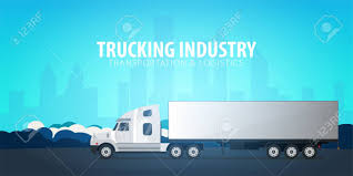 Trucking Industry Banner, Logistic And Delivery. Semi Truck... Stock ... Technology Transforming The Trucking Industry Panel To Be Featured Tech Startup Embark Partners With Peterbilt Change Lack Of Parking A Pressing Issue For Trucking Industry Pdq Evolution Breakaway Staffing 3 Innovations You Need Know About Digital Disruptions Gtg Group Injury Rates And Costs Among Highest Ehs Today Along Trends That Are Chaing The Why Is Truck Driving So Important In Canada 10 Places To Find Latest News All Working In Thank You Envoydispatch Learn Basics Dustrytrucking 101 Launch