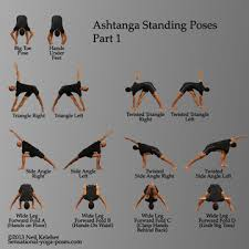 Ashtanga Yoga Standing Poses Part 1