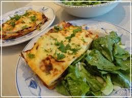 cuisiner cepes frais lasagnes à la viande aux courgettes et chignons frais recette