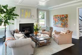 Airy Living Room Paint Color Ideas Benjamin Moore Gray Owl