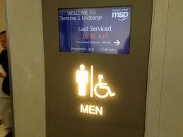 Varsity Theater Minneapolis Bathroom by Msp Airport Wins Best Bathroom Title In Cintas Contest