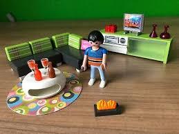 playmobil 5584 modernes wohnzimmer passend zu 5574